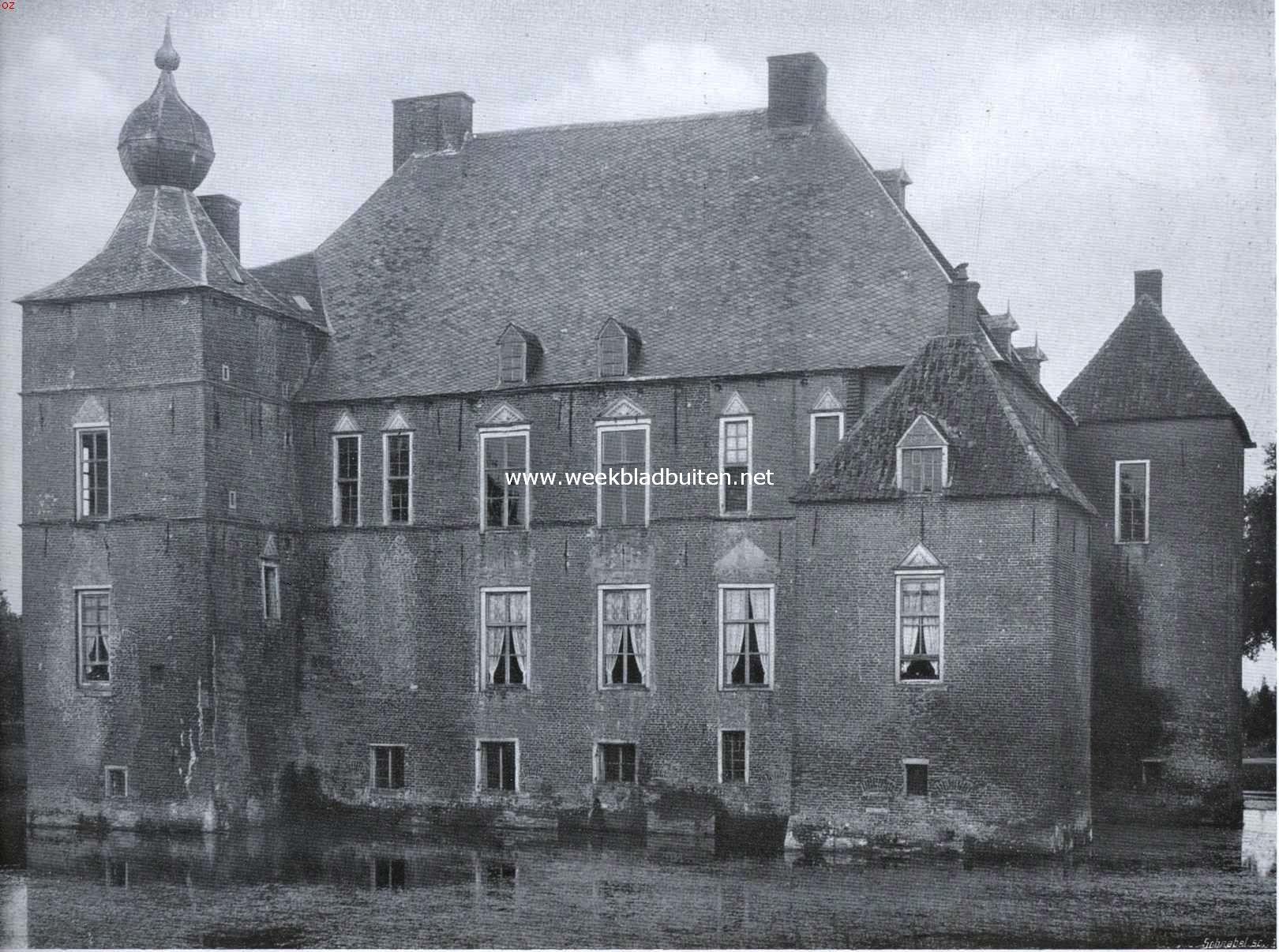 De Cannenburch. Noordzijde