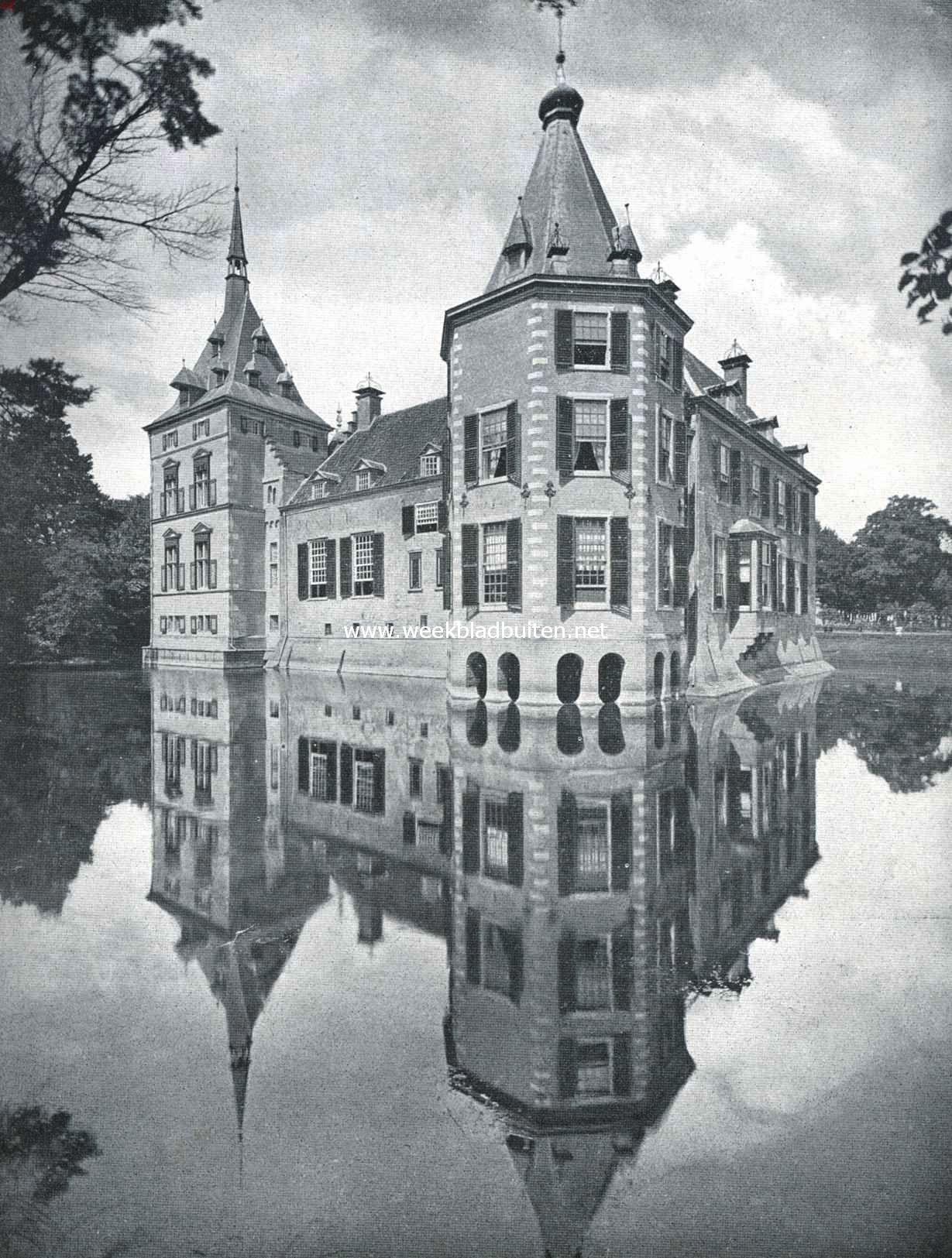 Het kasteel het Nijenhuis, gezien van het Zuidwesten