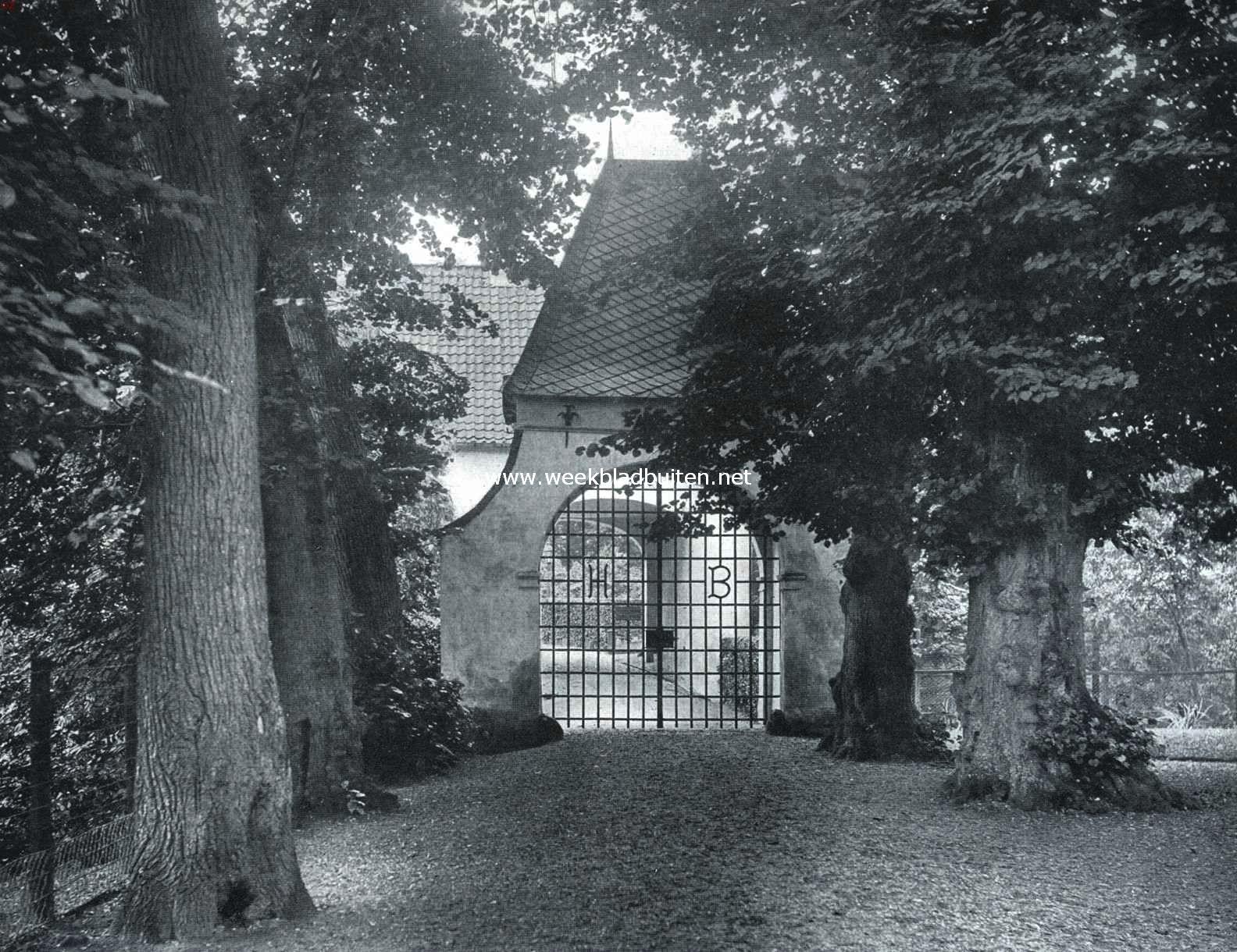 Het Huis Bergh. De buitenste poort