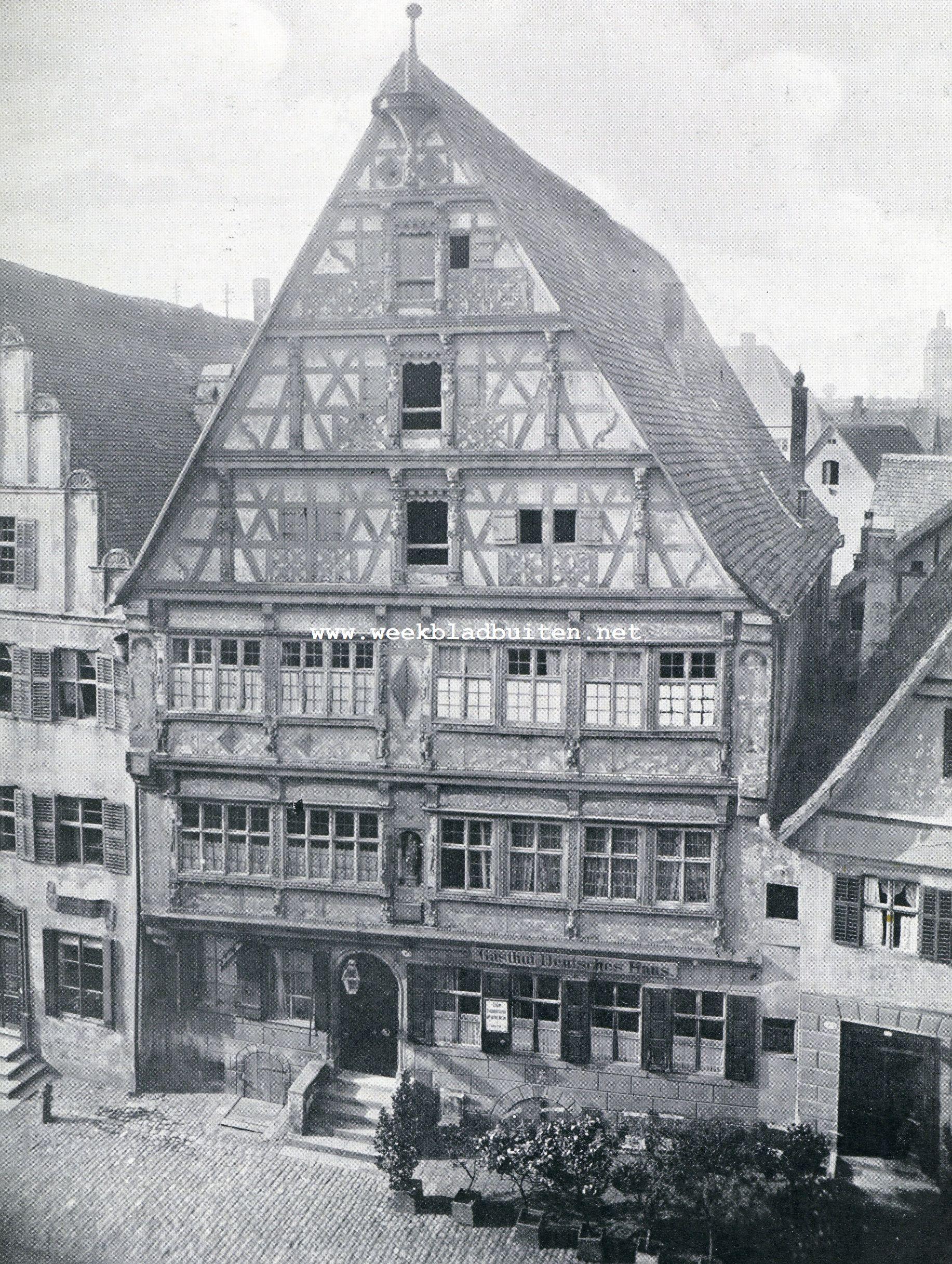 Dinkelsbühl. Das Deutsche Haus